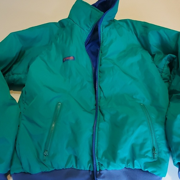 Columbia Other - Mens reversible columbia winter jacket size large